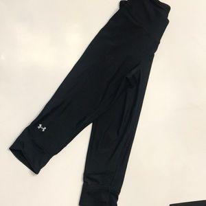 Black Under Armour Capri Leggings